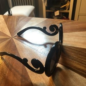 Prada Black Baroque Sunglasses